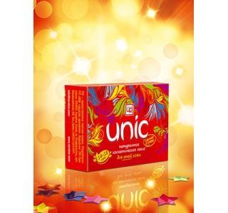 Мыло натуральное косметическое для подростков Unic 85гр.