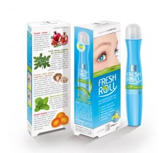 Фреш-Ролл - гель косметический для ухода за кожей вокруг глаз (скажи НЕТ темным кругам) 16г ЦА