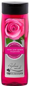 """""""Розовый шелк"""" гель для душа с морской солью 330мл.КНК"""