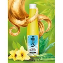 Безсульфатный шампунь с соком агавы для волос, жирных у корней и сухих на концах, 350мл.