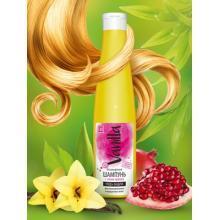 Безсульфатный шампунь с соком граната для ламинированных и окрашенных волос, 350 мл.