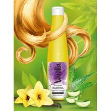 Безсульфатный шампунь с соком алоэ и каланхоэ для всех типов волос, 350 мл.