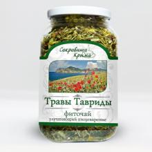 """Чай """"Травы Тавриды"""" улучшающий пищеварение 90г. ДМ"""