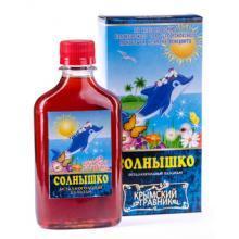 Питьевой бальзам СОЛНЫШКО (детский), 200мл. КТ