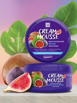Крем Cream-Mousse для ухода за кожей лица, шеи и зоны декольте