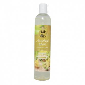 Гель для душа и ванн «Липовый цвет»  натуральный на основе компонентов растительного происхождения  Регенерирующий