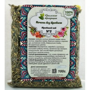 Печень без проблем чай 100г Крымские традиции