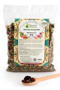 Эликсир молодости чай 100г Крымские традиции