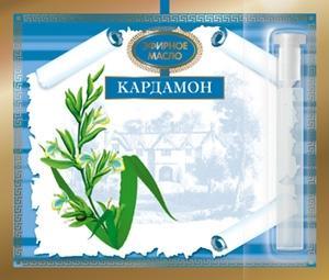 Кардамона эфирное масло на открытке 1,3 мл ЦА
