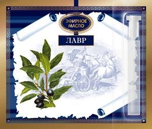 Лавра благородного эфирное масло на открытке 1,3 мл ЦА