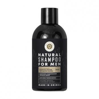 Натуральный шампунь Укрепляющий для мужчин с комплексом водорослей Черного моря