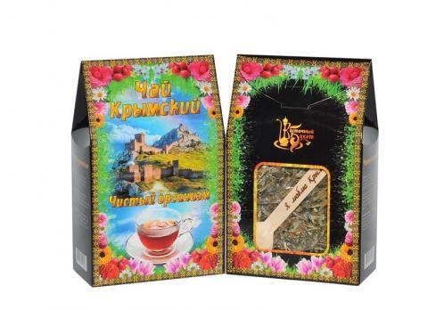 Чай Крымский с ложкой Чистый организм