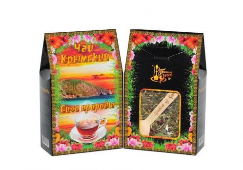 Чай Крымский с ложкой Сила природы