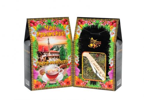 Чай Крымский с ложкой Секрет Молодости