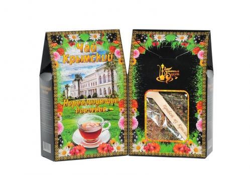 Чай Крымский с ложкой Нормализующий давление