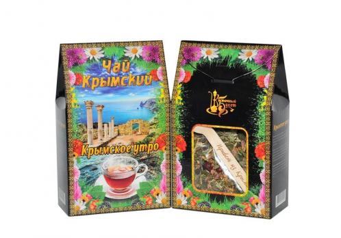Чай Крымский с ложкой Крымское утро