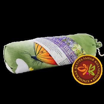 Валик-подушка для сна с Лавандой 30х8 см