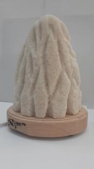 Соленная лампа из розовой соли МОНОЛИТ