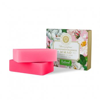 Парфюмированное мыло Charme de Rose Очарование розы  200г Дом природы
