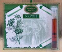 Укропа эфирное масло на открытке 1,3мл. ЦА