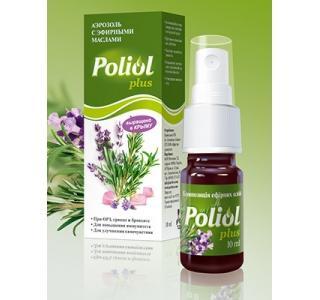 Poliol plus - композиция эфирных масел со спреем (1шт.-10мл) ЦА