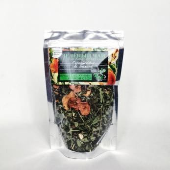 Зеленый чай с травами и фруктами. Спокойствие & Баланс КРЫМСКИЕ ТРАДИЦИИ  50гр