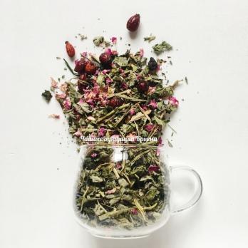 Крымский травяной чай №28 Монастырский Чайные традиции Крыма 100гр
