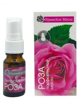 Парфюмерное масло Роза спрей 10 мл Крымские масла