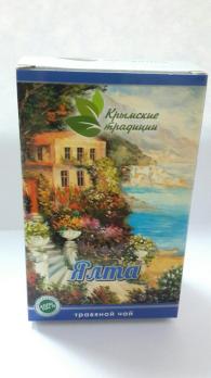 Травяной чай ЯЛТА 40г. Крымские традиции