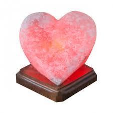 Соляная лампа Сердце алое 2,4 кг Ваше здоровье