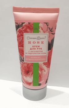 Крем для рук Нежное прикосновение с гидролатом розы и абсолютом розы, 70г ДП