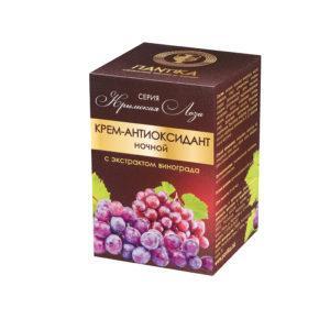Крем-антиоксидант ночной с экстрактом винограда Пантика
