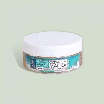 Скраб-маска для волос Seaweed Hair Collection КНК