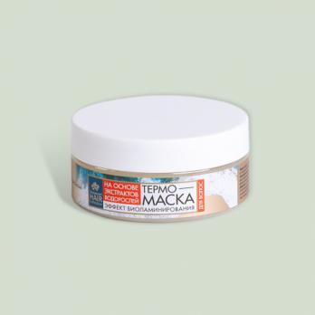 Термо-маска биоламинация для волос Seaweed Hair Collection КНК