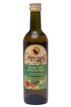 Масло Рыжиковое (Пастушья сумка) 0.36л нерафинированное масло, extra virgin Крымский янтарь