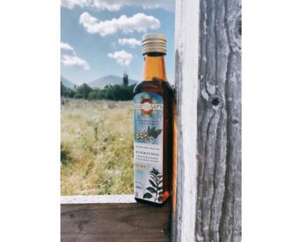Сыродавленное льняное масло, 250мл Благодарь