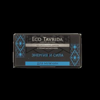 """Натуральный шампунь с грязью Сакского озера для мужчин """"Энергия и сила"""" Эко Таврида"""