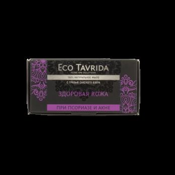 """Натуральное мыло с грязью Сакского озера при псориазе и акне """"Здоровая кожа"""" Эко Таврида"""