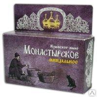 Крымское мыло Монастырское «Миндальное» 80г.