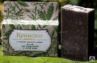 Крымское мыло на основе грязи Сакского озера для сухой кожи 80г.