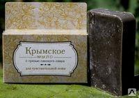 Крымское мыло на основе грязи Сакского озера Для чувствительной кожи 80г