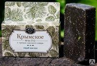Крымское мыло на основе грязи Сакского озера Мыло – скраб для ног. 80г.