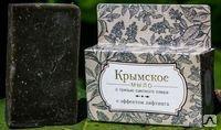 Крымское мыло на основе грязи Сакского озера с эффектом лифтинга. 80г.